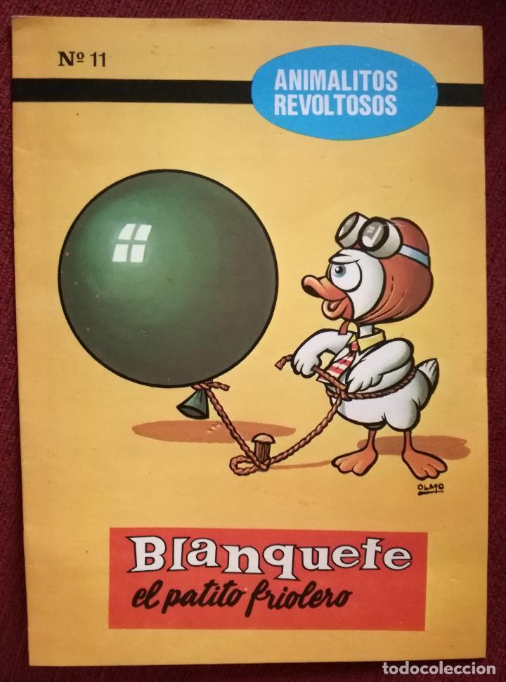 CUENTO ANIMALITOS REVOLTOSOS BOGA Nº 11 BLANQUETE EL PATITO FRIOLERO 1972 MORALEJA (Libros de Segunda Mano - Literatura Infantil y Juvenil - Cuentos)