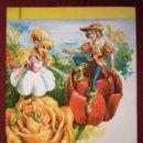 Libros de segunda mano: CUENTO SILABEADO FLORECILLA Nº 6 BOGA SERIE KINDER 1972. Lote 157659854