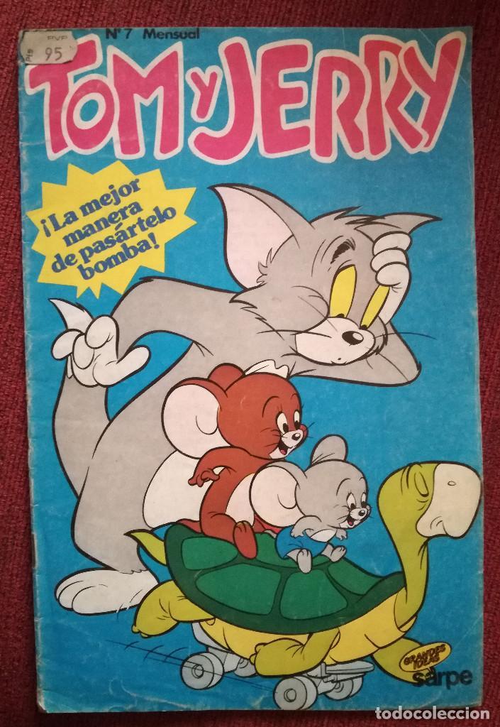 CUENTO COMIC TOM Y JERRY SARPE Nº 7 1984 (Libros de Segunda Mano - Literatura Infantil y Juvenil - Cuentos)