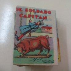 Libros de segunda mano: DE SOLDADO A CAPITAN. CUENTO. SATURNINO CALLEJA. SERIE III TOMO 46. Lote 158342466
