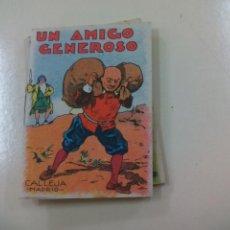 Libros de segunda mano: UN AMIGO GENEROSO. CUENTO. SATURNINO CALLEJA. SERIE IX TOMO 170. Lote 158343142