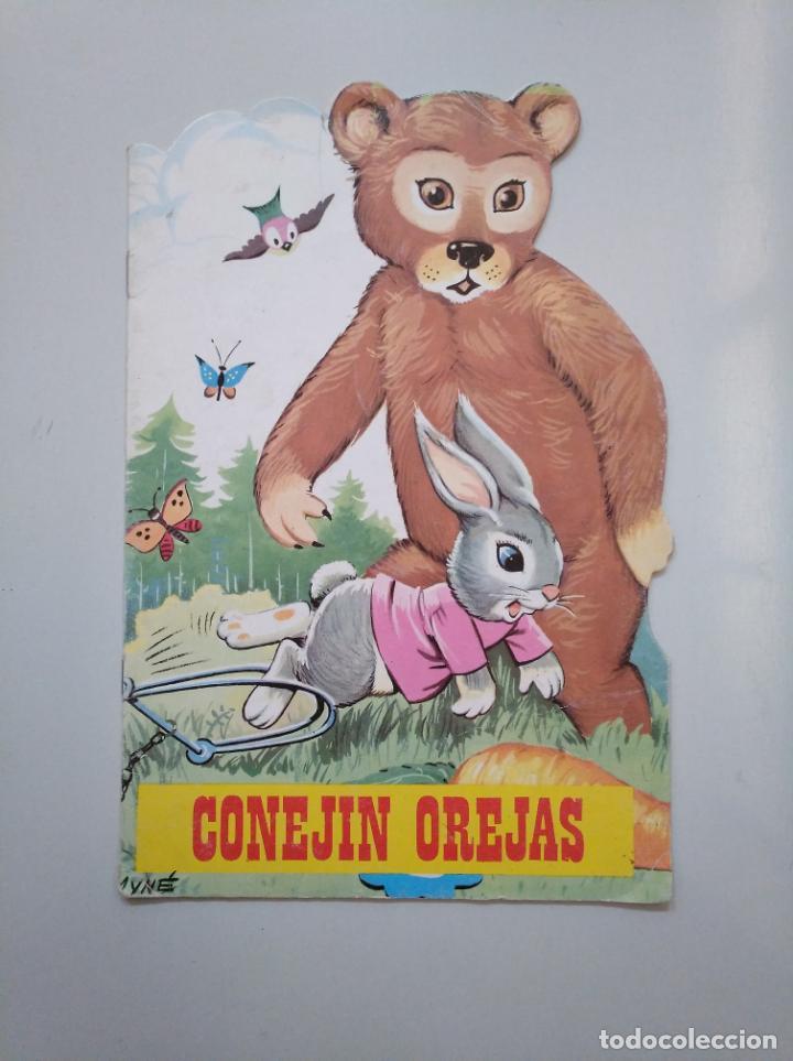 CUENTOS TORAY ZOO. Nº 1. SERIE A. CONEJIN OREJAS. EDICIONES TORAY 1990. TDKR44 (Libros de Segunda Mano - Literatura Infantil y Juvenil - Cuentos)