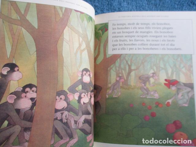 Libros de segunda mano: historia de los bonobos con gafas - adela turin - ilustraciones nella bosnia - 1ª ed. MUY BUEN ESTAD - Foto 10 - 263109290