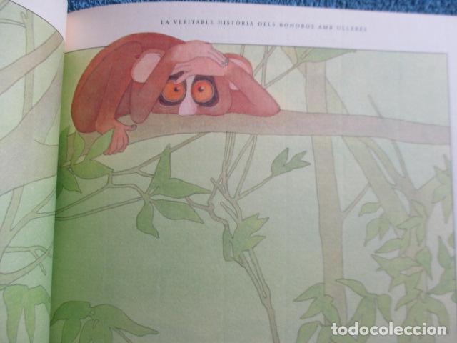 Libros de segunda mano: historia de los bonobos con gafas - adela turin - ilustraciones nella bosnia - 1ª ed. MUY BUEN ESTAD - Foto 11 - 263109290