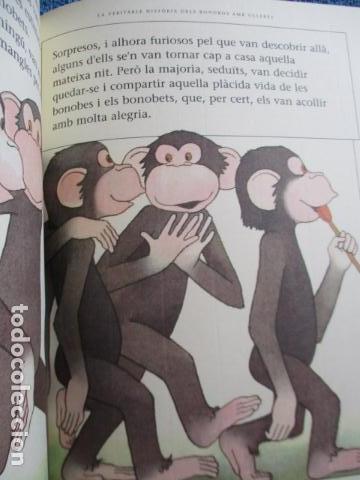 Libros de segunda mano: historia de los bonobos con gafas - adela turin - ilustraciones nella bosnia - 1ª ed. MUY BUEN ESTAD - Foto 12 - 263109290