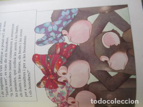 Libros de segunda mano: historia de los bonobos con gafas - adela turin - ilustraciones nella bosnia - 1ª ed. MUY BUEN ESTAD - Foto 15 - 263109290