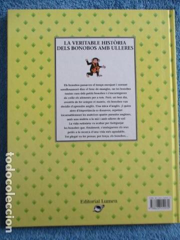 Libros de segunda mano: historia de los bonobos con gafas - adela turin - ilustraciones nella bosnia - 1ª ed. MUY BUEN ESTAD - Foto 18 - 263109290