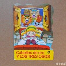 Libros de segunda mano - CUENTO TROQUELADO CABELLOS DE ORO Y LOS TRES OSOS - EDITORIAL BRUGUERA DIN DAN - 1979 - 158818990
