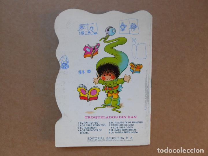 Libros de segunda mano: CUENTO TROQUELADO CABELLOS DE ORO Y LOS TRES OSOS - EDITORIAL BRUGUERA DIN DAN - 1979 - Foto 3 - 158818990
