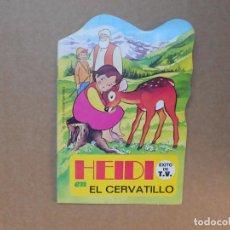 Libros de segunda mano: CUENTO TROQUELADO HEIDI EL CERVATILLO - EDITORIAL BRUGUERA - 1975. Lote 158819502