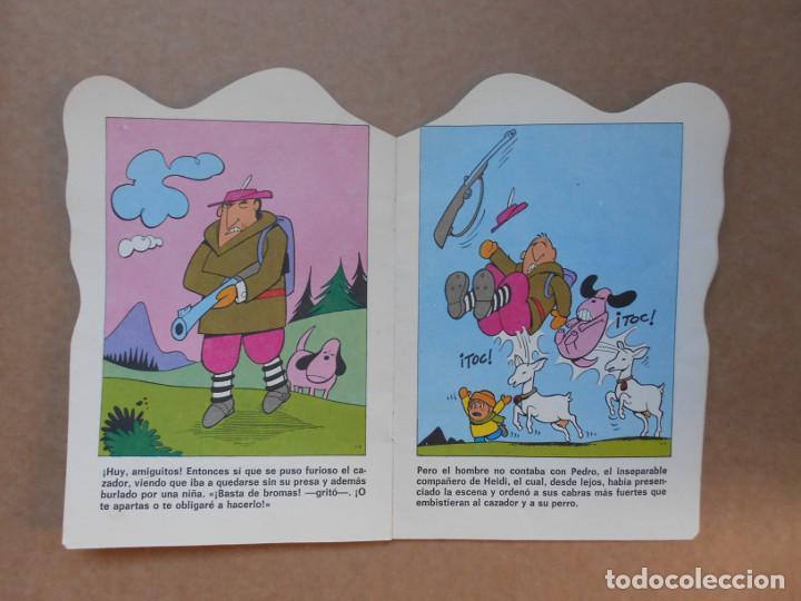 Libros de segunda mano: CUENTO TROQUELADO HEIDI EL CERVATILLO - EDITORIAL BRUGUERA - 1975 - Foto 2 - 158819502