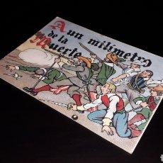 Libros de segunda mano: CUENTO Nº 36 A UN MILÍMETRO DE LA MUERTE, GOIKO MENSAJEROS DEL CORAZÓN DE JESÚS CIA, SJ, BILBAO 1944. Lote 158820910