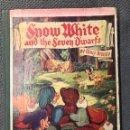 Libros de segunda mano: BLANCANIEVES Y LOS SIETE ENANITOS. SNOW WHITE AND THE SEVEN DIWARFS BY WALT DISNEY (H.1950?). Lote 159121670