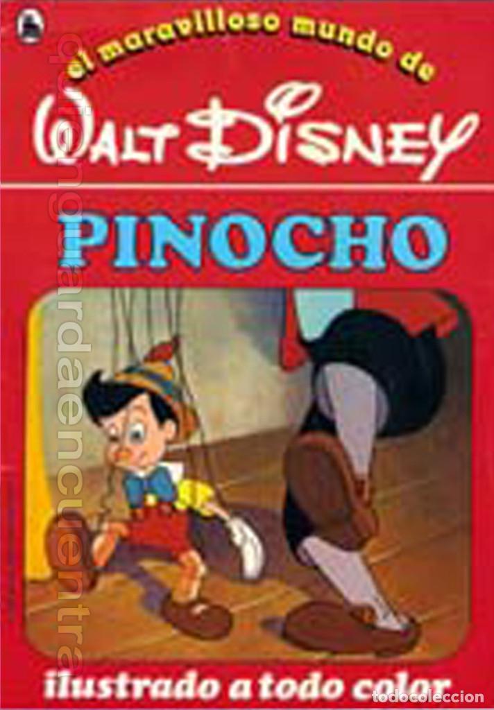 COLECCIÓN COMPLETA 12 CUENTOS PINOCHO-DUMBO-PETER-BAMBY...MARAVILLOSO MUNDO DISNEY BRUGUERA 1986 (Libros de Segunda Mano - Literatura Infantil y Juvenil - Cuentos)
