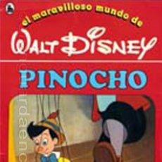 Libros de segunda mano: COLECCIÓN COMPLETA 12 CUENTOS PINOCHO-DUMBO-PETER-BAMBY...MARAVILLOSO MUNDO DISNEY BRUGUERA 1986. Lote 159178038