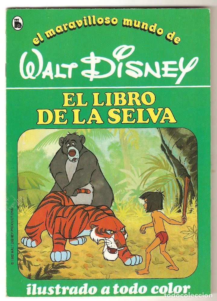 Libros de segunda mano: COLECCIÓN COMPLETA 12 CUENTOS PINOCHO-DUMBO-PETER-BAMBY...maravilloso mundo Disney Bruguera 1986 - Foto 2 - 159178038