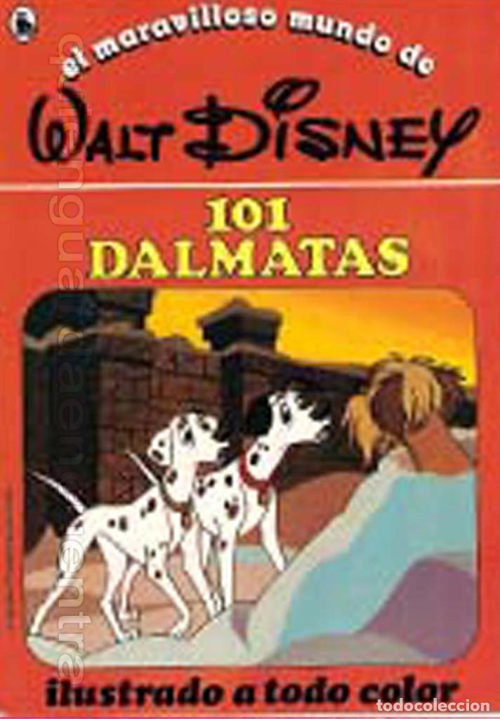 Libros de segunda mano: COLECCIÓN COMPLETA 12 CUENTOS PINOCHO-DUMBO-PETER-BAMBY...maravilloso mundo Disney Bruguera 1986 - Foto 3 - 159178038