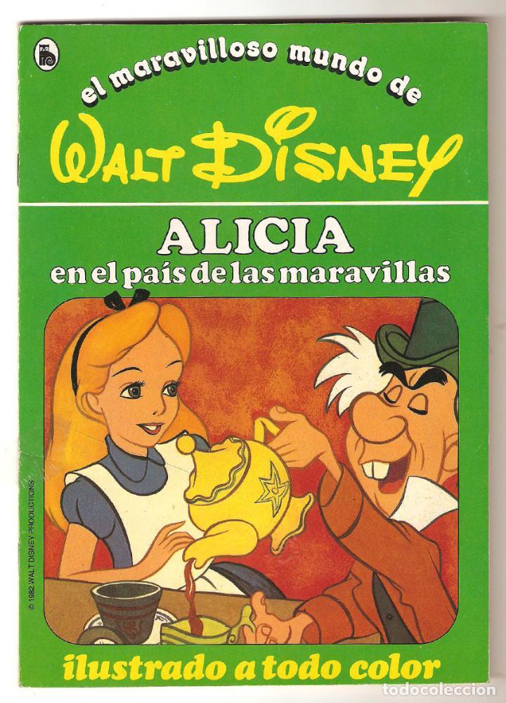 Libros de segunda mano: COLECCIÓN COMPLETA 12 CUENTOS PINOCHO-DUMBO-PETER-BAMBY...maravilloso mundo Disney Bruguera 1986 - Foto 4 - 159178038