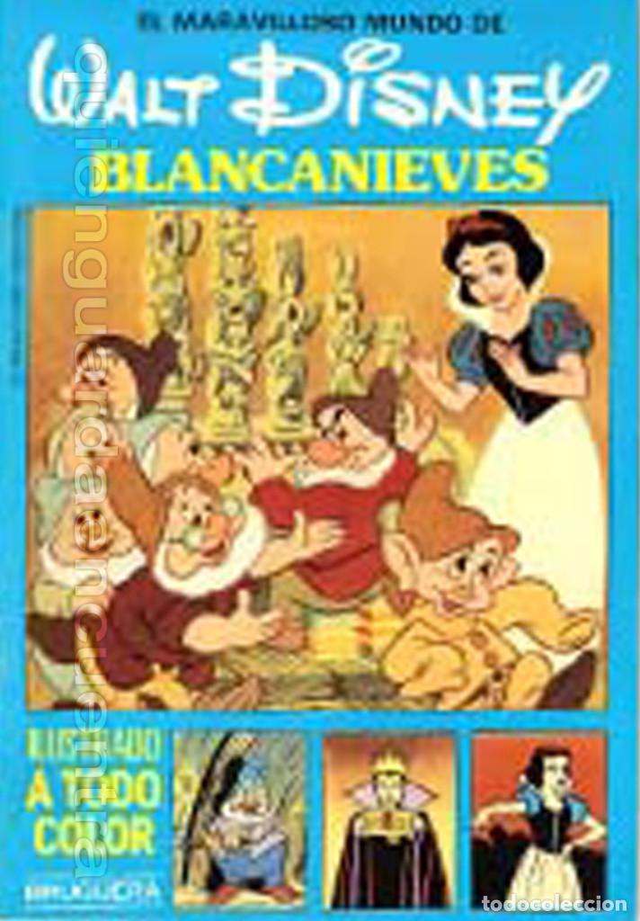 Libros de segunda mano: COLECCIÓN COMPLETA 12 CUENTOS PINOCHO-DUMBO-PETER-BAMBY...maravilloso mundo Disney Bruguera 1986 - Foto 7 - 159178038