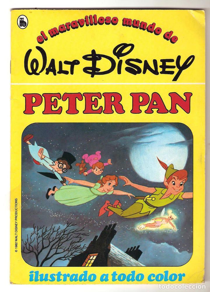 Libros de segunda mano: COLECCIÓN COMPLETA 12 CUENTOS PINOCHO-DUMBO-PETER-BAMBY...maravilloso mundo Disney Bruguera 1986 - Foto 13 - 159178038