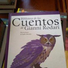 Libros de segunda mano: LIBRO BIBLIOTECA DE LOS CUENTOS DE GIANNI RODARI. Lote 159276550