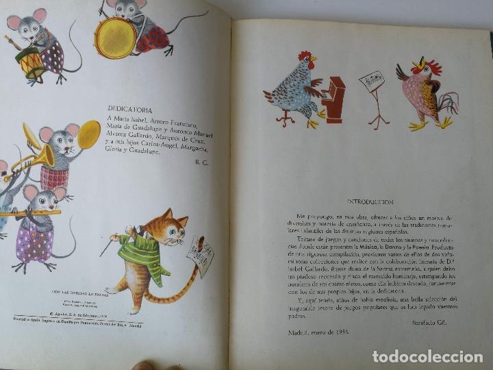 Libros de segunda mano: ANTIGUO Y PRECIOSO LIBRO - JUGAR Y CANTAR - DE BONIFCACIO GIL - AGUILAR - 1956 - ADIVINANZAS, CANCIO - Foto 2 - 177234595