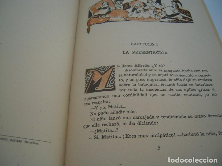 Libros de segunda mano: matita la niña de los ojos de acero - Foto 3 - 159766582