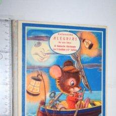 Libros de segunda mano: EL RATONCITO AFORTUNADO + LOS 3 CERDITOS ... *** CUENTO COLECCION ALEGRÍAS *** EDITORIAL FHER (1958). Lote 159841686