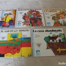 Libros de segunda mano: LOTE 5 CUENTOS APLEC CUENTOS JUVENILES. Lote 159887838