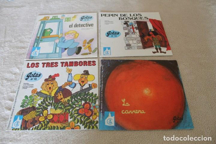 LOTE 4 CUENTOS JUVENILES GOTAS (Libros de Segunda Mano - Literatura Infantil y Juvenil - Cuentos)