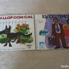 Libros de segunda mano: LOTE 2 CUENTOS JUVENILES EN CATALAN. Lote 159888482