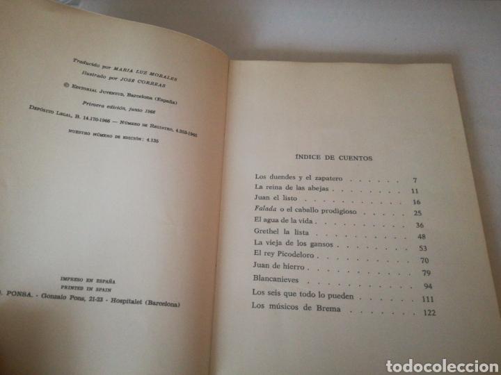 Libros de segunda mano: CUENTOS DE LOS HERMANOS GRIMM - Foto 4 - 159926128