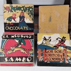 Libros de segunda mano: CUENTOS MOLINO. 4 EJEMPLARES. VARIOS AUTORES. BARCELONA. 1935/1943.. Lote 160341222