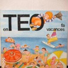 Libros de segunda mano: TEO FA VACANCES. VIOLETA DENOU. GUIA DIDACTICA TIMUN MAS. Lote 206458868