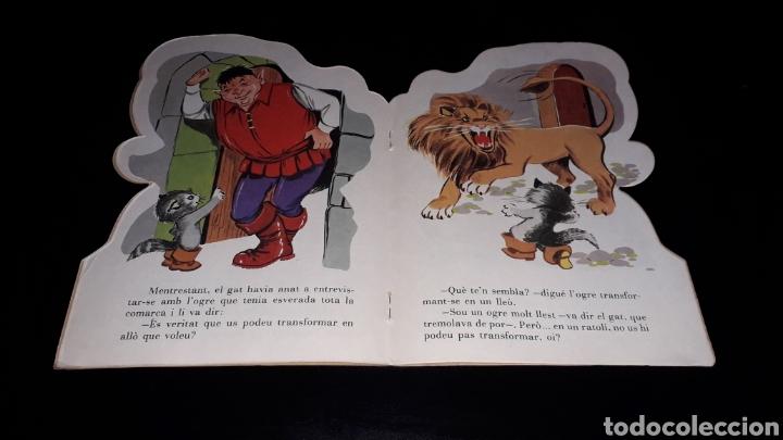 Libros de segunda mano: *El Gat amb Botes* Cuento troquelado en *CATALÁN*, María Pascual, Toray, Barcelona, año 1977. - Foto 3 - 160558162