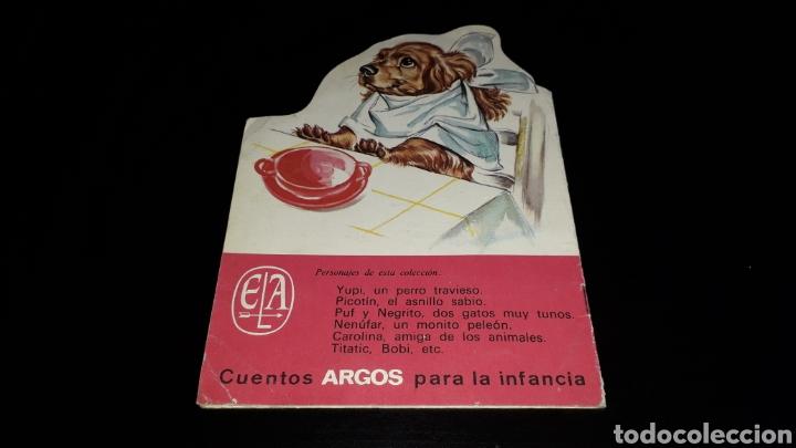 Libros de segunda mano: *Perrito Yupi y Carolina* Cuento troquelado, Pierre Probst, Argos, Barcelona, año 1969. - Foto 7 - 160567030