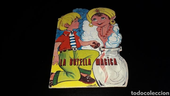 *LA BOTELLA MÁGICA* CUENTO TROQUELADO, ANDREU MONTULL, ED. VILMAR, BARCELONA, AÑO 1972. (Libros de Segunda Mano - Literatura Infantil y Juvenil - Cuentos)