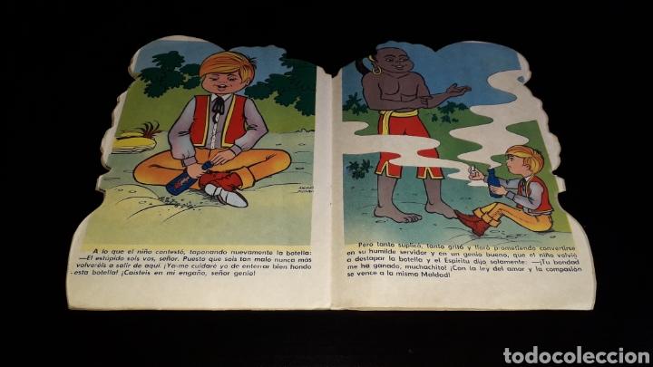 Libros de segunda mano: *La Botella Mágica* Cuento troquelado, Andreu Montull, Ed. Vilmar, Barcelona, año 1972. - Foto 5 - 160568670