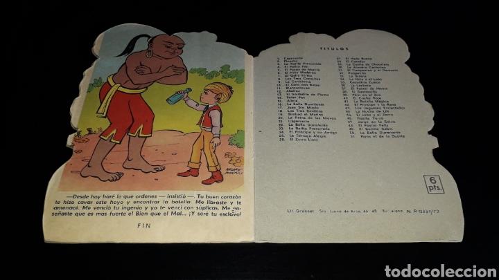 Libros de segunda mano: *La Botella Mágica* Cuento troquelado, Andreu Montull, Ed. Vilmar, Barcelona, año 1972. - Foto 6 - 160568670