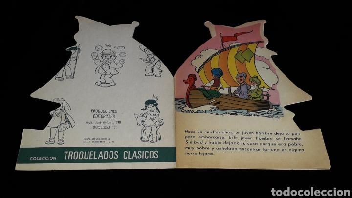 Libros de segunda mano: *Simbad el Marino* Cuento troquelado, Ed. Producciones Editoriales, Barcelona, año 1978. - Foto 2 - 160569798