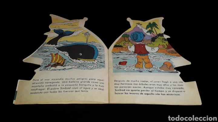 Libros de segunda mano: *Simbad el Marino* Cuento troquelado, Ed. Producciones Editoriales, Barcelona, año 1978. - Foto 3 - 160569798