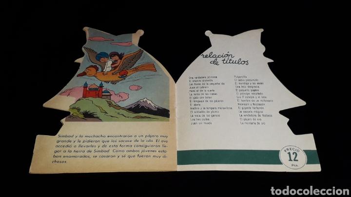 Libros de segunda mano: *Simbad el Marino* Cuento troquelado, Ed. Producciones Editoriales, Barcelona, año 1978. - Foto 6 - 160569798
