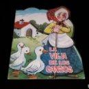 Libros de segunda mano: *LA VIEJA DE LOS GANSOS* CUENTO TROQUELADO, ED. PRODUCCIONES EDITORIALES, BARCELONA, AÑO 1979.. Lote 160570618