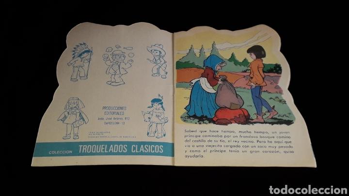 Libros de segunda mano: *La Vieja de los Gansos* Cuento troquelado, Ed. Producciones Editoriales, Barcelona, año 1979. - Foto 2 - 160570618