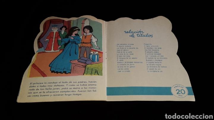 Libros de segunda mano: *La Vieja de los Gansos* Cuento troquelado, Ed. Producciones Editoriales, Barcelona, año 1979. - Foto 6 - 160570618