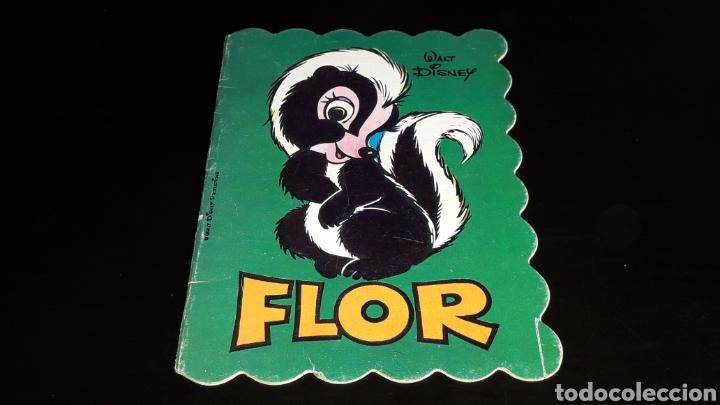 *FLOR, WALT DISNEY* CUENTO TROQUELADO, ED. BRUGUERA, BARCELONA, AÑO 1973. (Libros de Segunda Mano - Literatura Infantil y Juvenil - Cuentos)