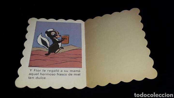 Libros de segunda mano: *Flor, Walt Disney* Cuento troquelado, Ed. Bruguera, Barcelona, año 1973. - Foto 5 - 160571054