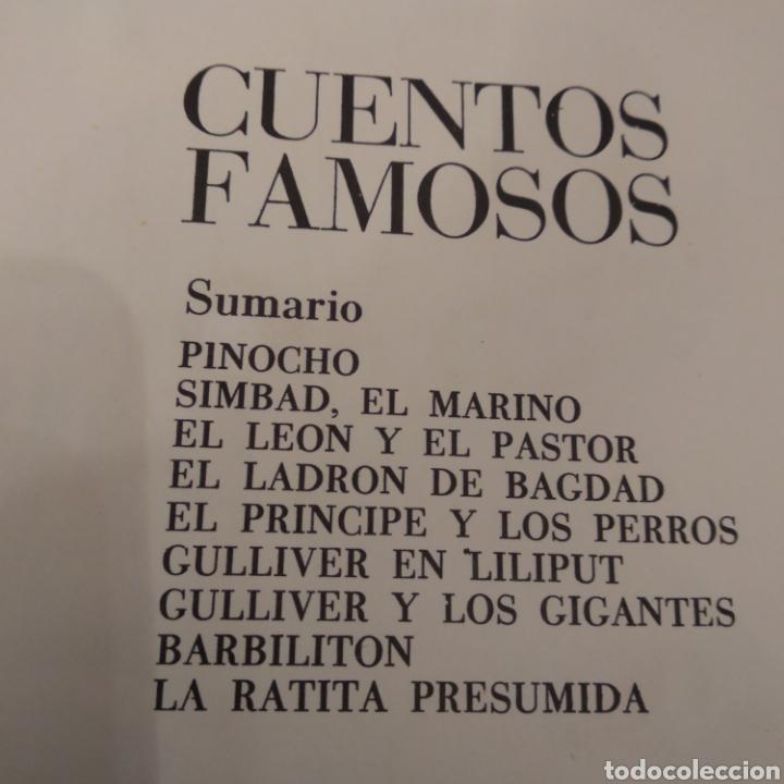 Libros de segunda mano: CUENTOS FAMOSOS . MARIA PASCUAL - Foto 5 - 160646821
