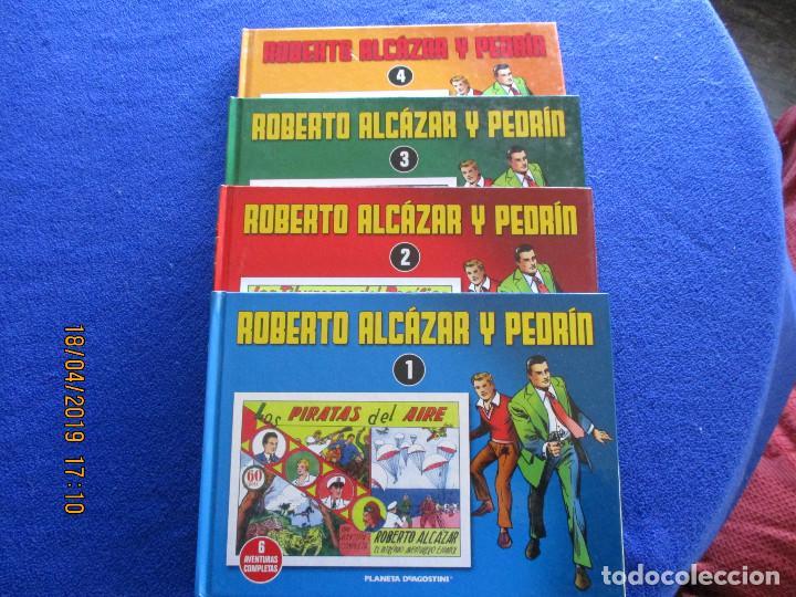 ROBERTO ALCÁZAR Y PEDRIN 4 TOMOS EDITORIAL PLANETA DEAGOSTINI 2010 (Libros de Segunda Mano - Literatura Infantil y Juvenil - Cuentos)