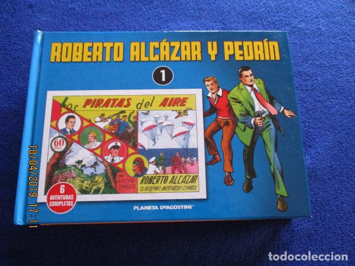 Libros de segunda mano: ROBERTO ALCÁZAR Y PEDRIN 4 Tomos Editorial Planeta DeAgostini 2010 - Foto 3 - 160680054